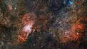 Highlights from huge VST nebula image