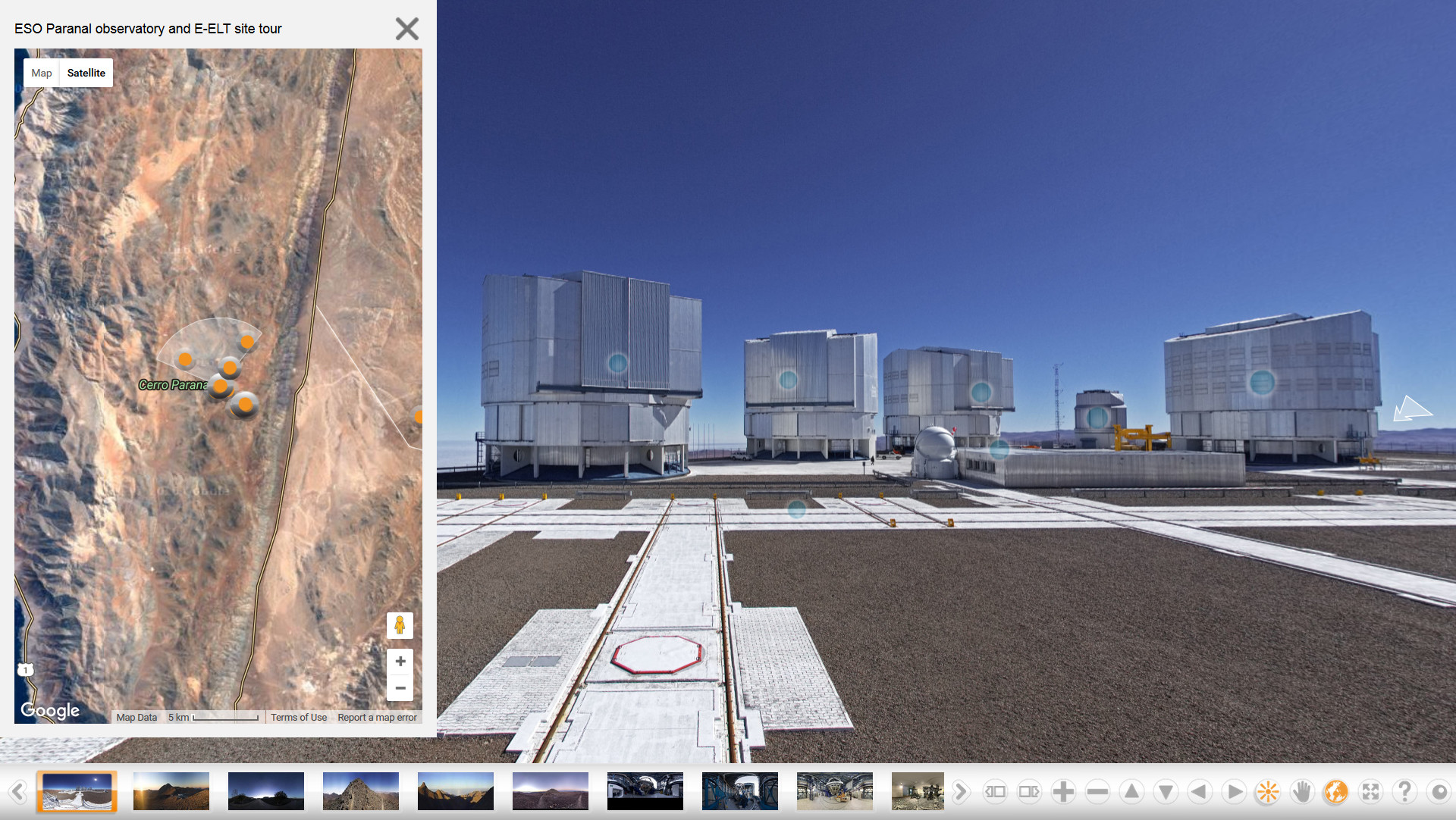 Weekend Visits To Paranal Eso