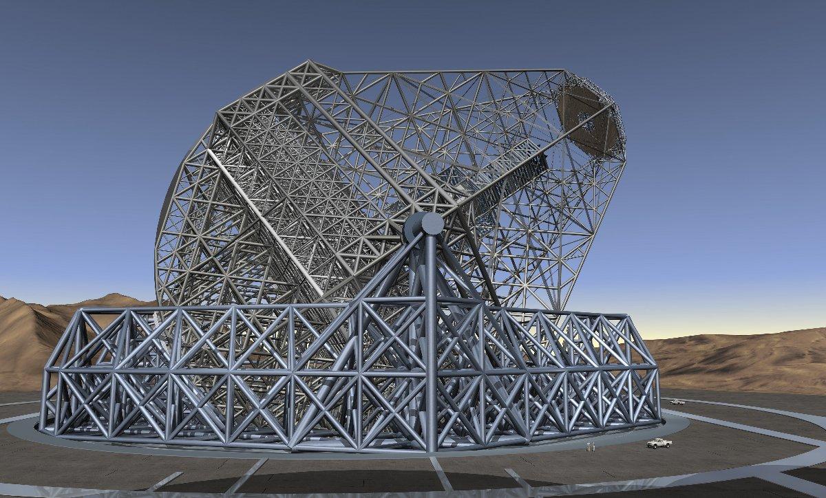Owl 100 M Telescope