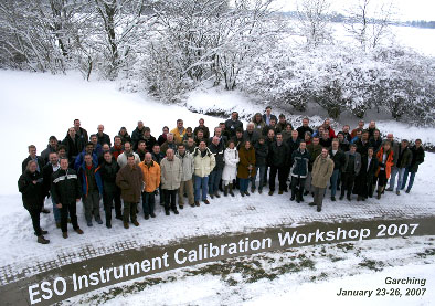 ESO Calibration Workshop 2007