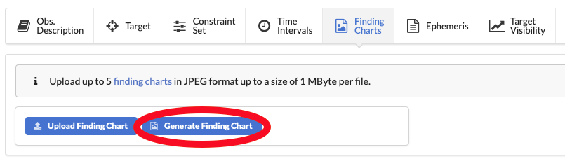 ESO - p2fc Finding Charts