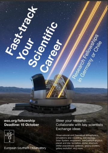 ESO - ESO Postdoctoral Fellowships