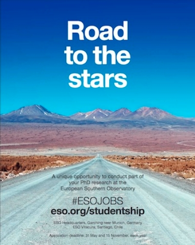 Call for ESO Studentships